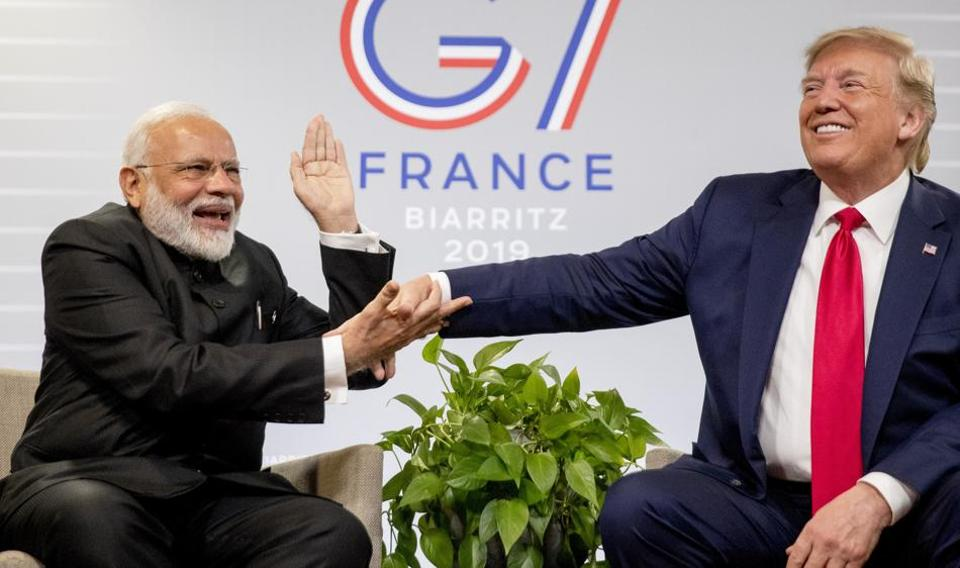 At G7, Trump seemed to accept that India and Pakistan could sort out their differences themselves. Foreign secretary Vijay Gokhale, who briefed the media after the conclusion of talks, said that Modi and Trump focused on trade- and energy-related issues, but did not discuss Kashmir