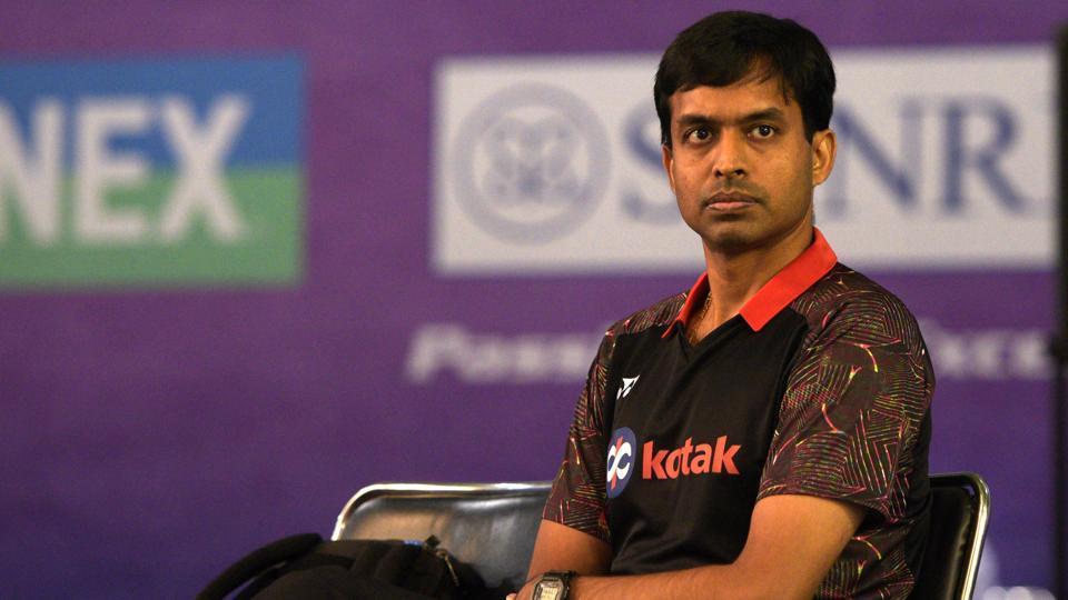 Afile photo of Indian Badminton coach Pullela Gopichand.
