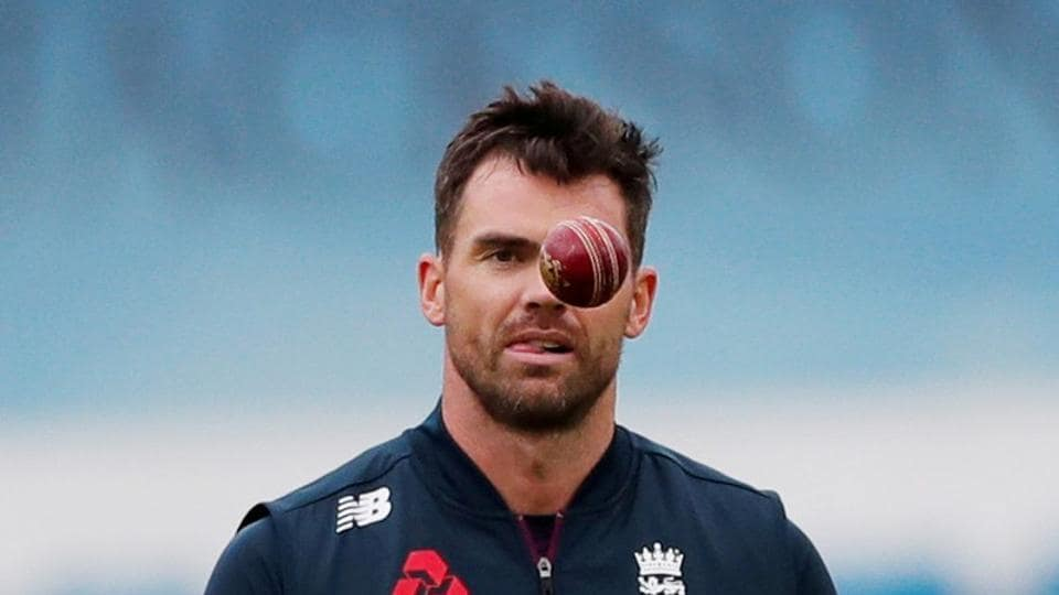 FILE PHOTO: Cricket - Ashes 2019 - Third Test - England v Australia - Headingley, Leeds, Britain - August 22, 2019 England's James Anderson bowling after the match.