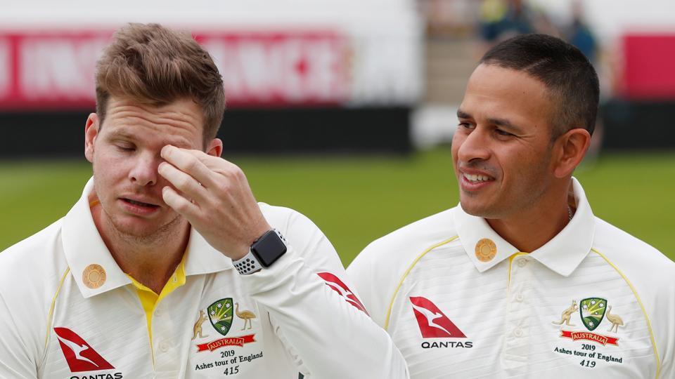 File image of Australia cricketers Steve Smith and Usman Khawaja.