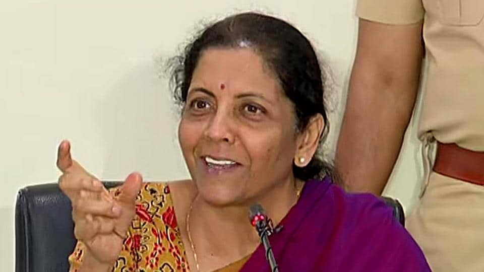 Sitharaman interacted with representatives of trade associations, chartered accountants and heard their concerns.