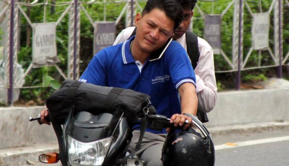 Government officials in Jharkhand will not be allowed to enter their offices if found riding two-wheelers without a helmet under a new 'no helmet, no entry' initiative of the state's transport department.