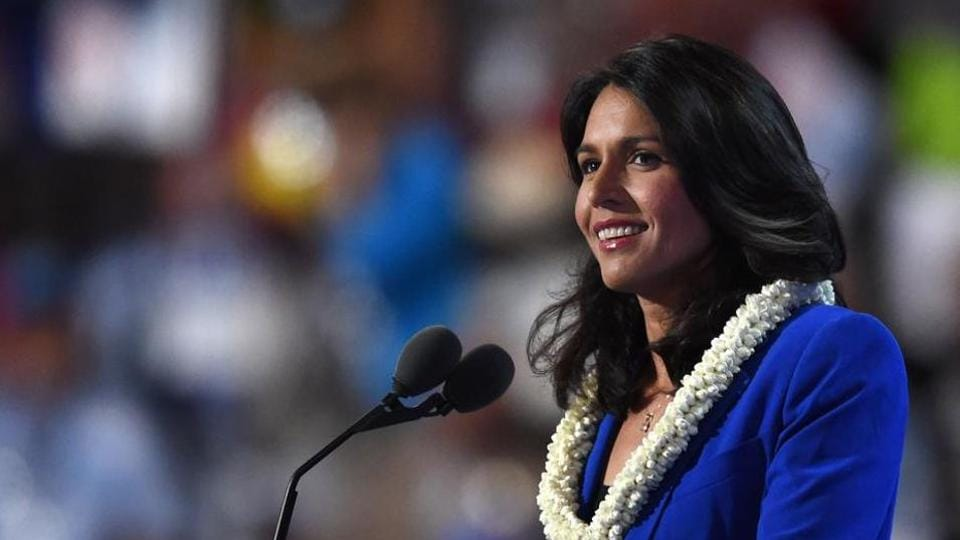 The congresswoman is the first Hindu ever elected to US congress and to run for the White House and has been close to Prime Minister Narendra Modi.