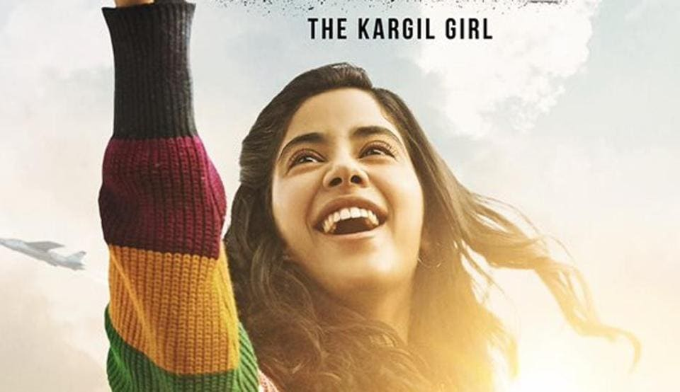 Kargil Girl First Poster Janhvi Kapoor Gives Wings To Her Ambition In Gunjan Saxena Biopic See Pic Bollywood Hindustan Times