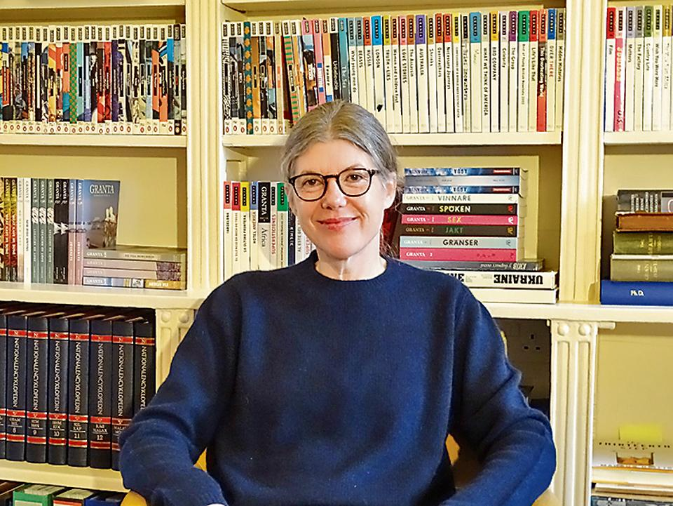 Sigrid Rausing, publisher and editor, at the Granta's London office