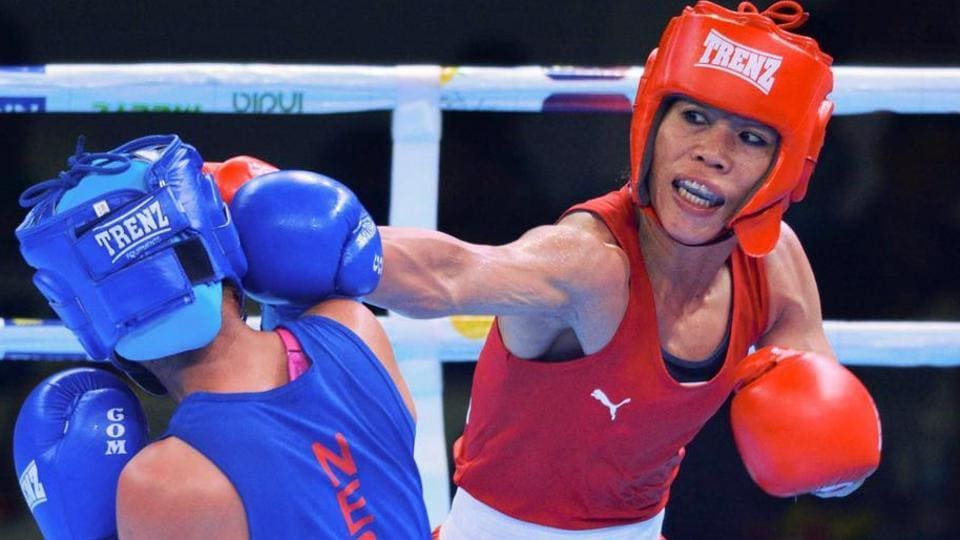 Afile photo of Indian boxer Mary Kom.