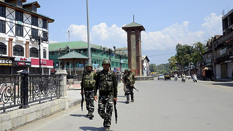Mobile phone services were restored on Thursday in five districts of Jammu after remaining suspended for 25 days