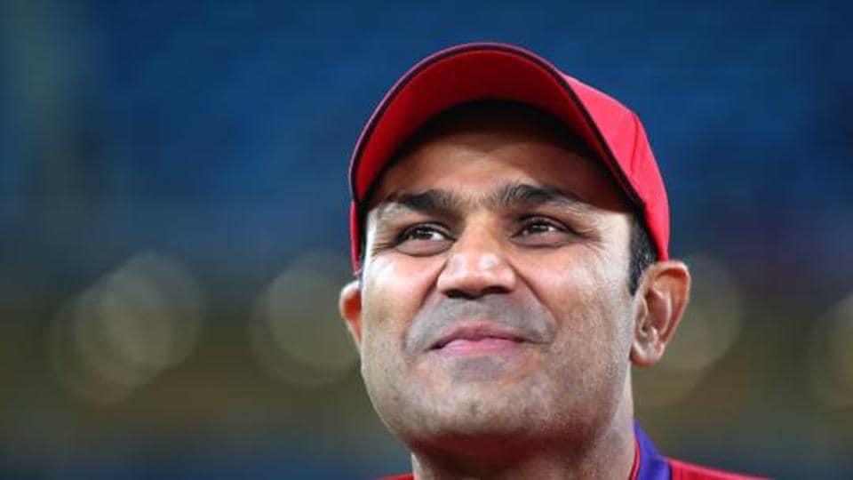 File image of former India cricketer Virender Sehwag.