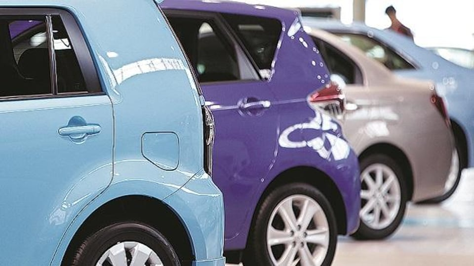 Passenger vehicle sales in July fell at the fastest pace in nearly two decades.