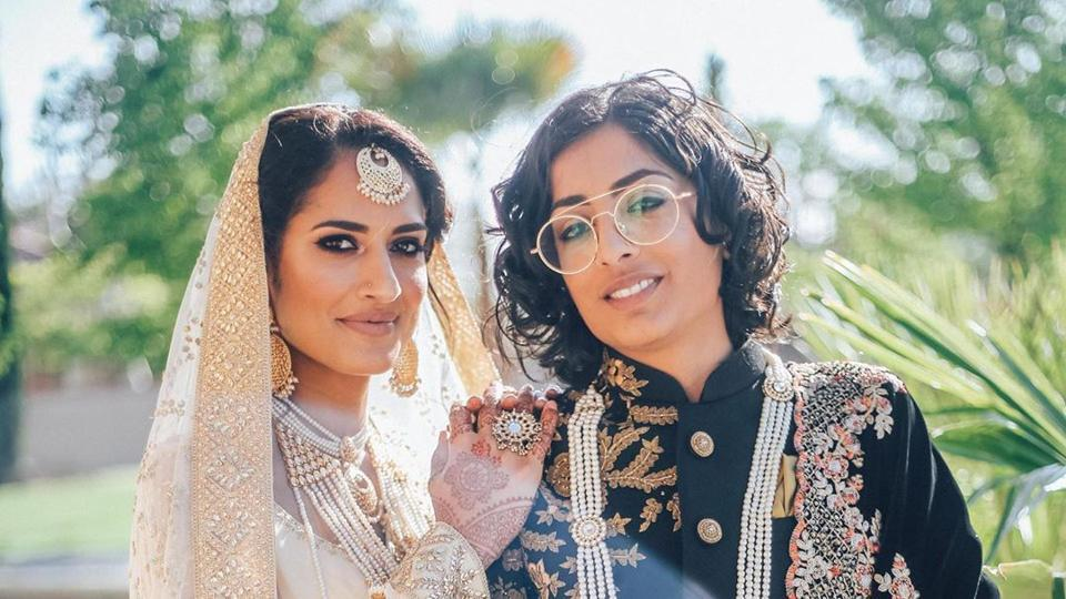 Indo-Pak Same Sex Couple Look Breathtaking In Fairy Tale Wedding See Pics  It S -8129