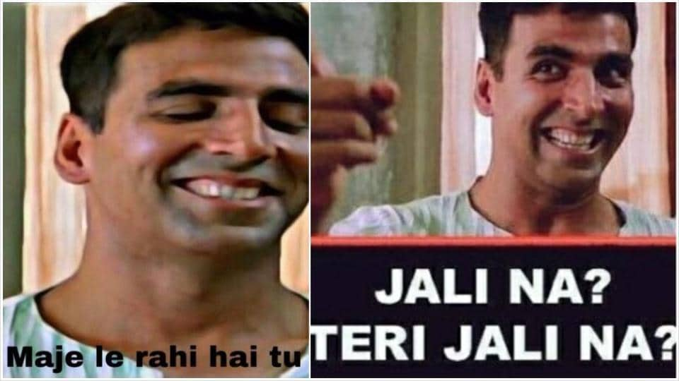 Akshay Kumar and his films are often turned into hilarious memes.
