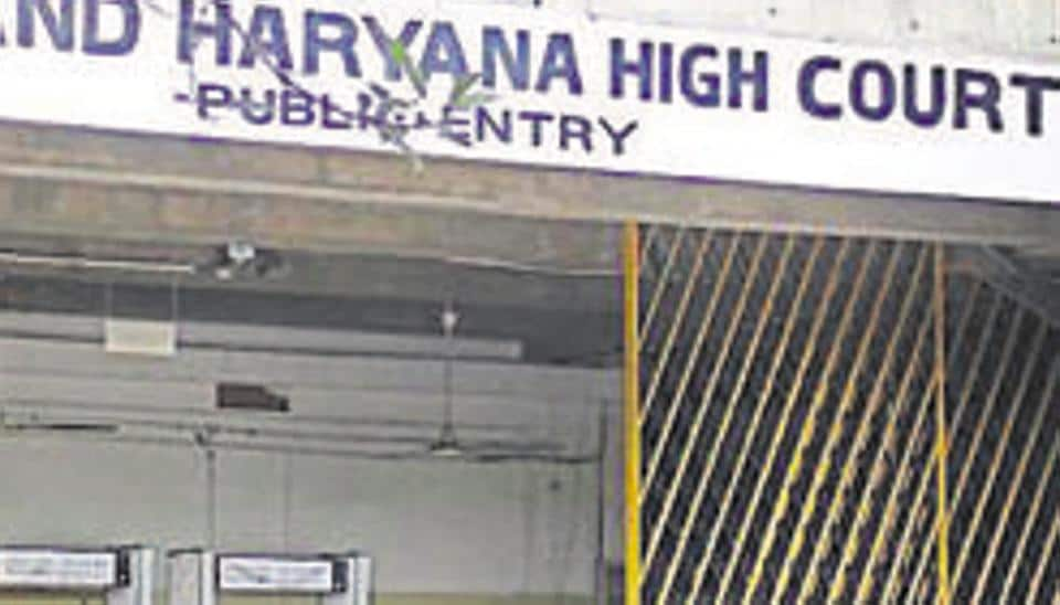 Punjab and Haryana High Court building in Chandigarh