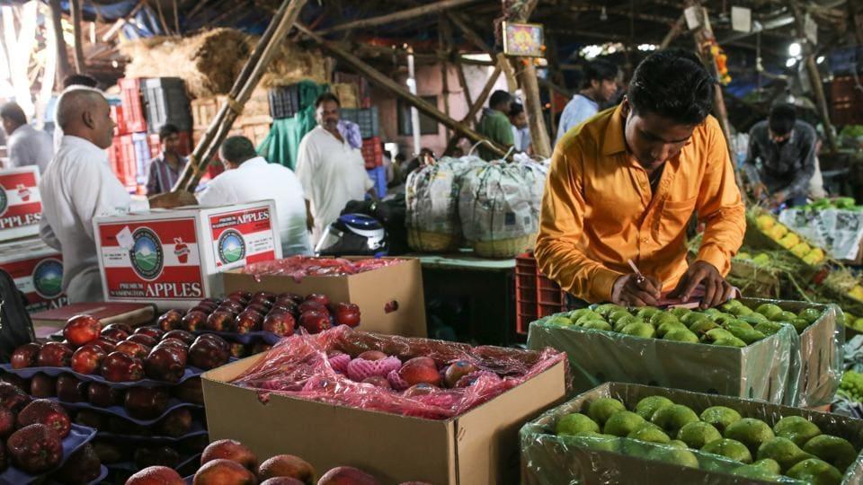 APMC market in Vashi.