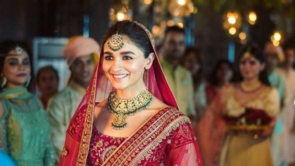 Alia Bhatt Plays A Sassy Bride Who Won T Let Tears Ruin Her