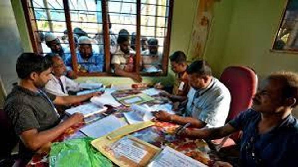 NRC officials busy in collecting and verifying data in Assam.