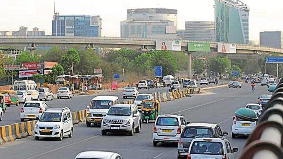 Wrong side driving is a major problem as commuters have to take a U-Turn below Rajokri flyover in Delhi.