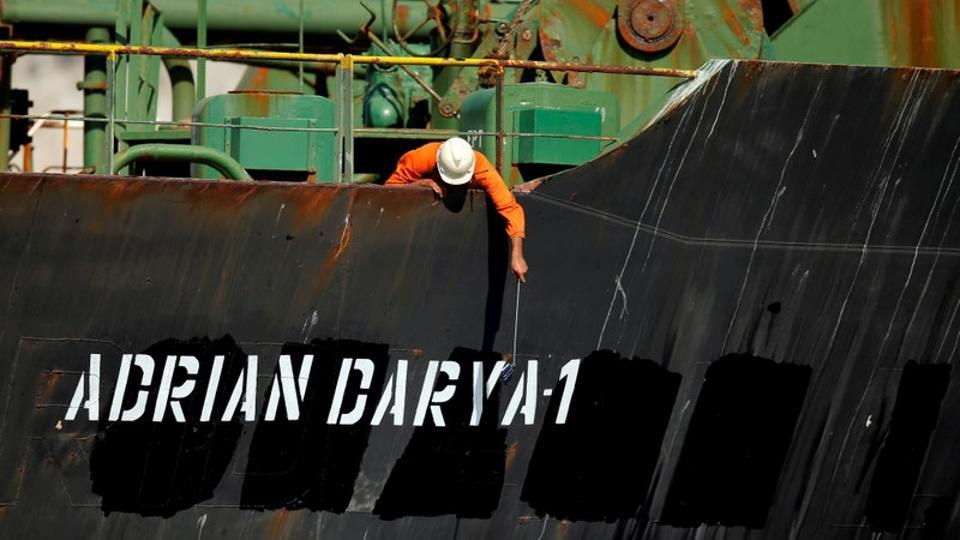 USA blacklists Iranian oil tanker Adrian Darya, sanctions captain