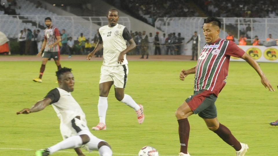 File photo of Mohun Bagan in action.