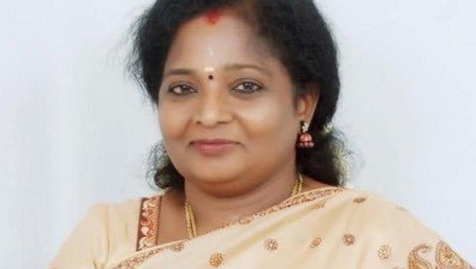 Tamilisai was appointed as the first woman state chief for TN BJP in August 2014. Of the 30 plus BJP state unit chiefs, Tamilisai was the only woman BJP state unit president in the country.