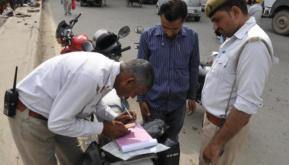 The new Act has substantially increased penalties for traffic violations such as drunk driving, driving without helmets.