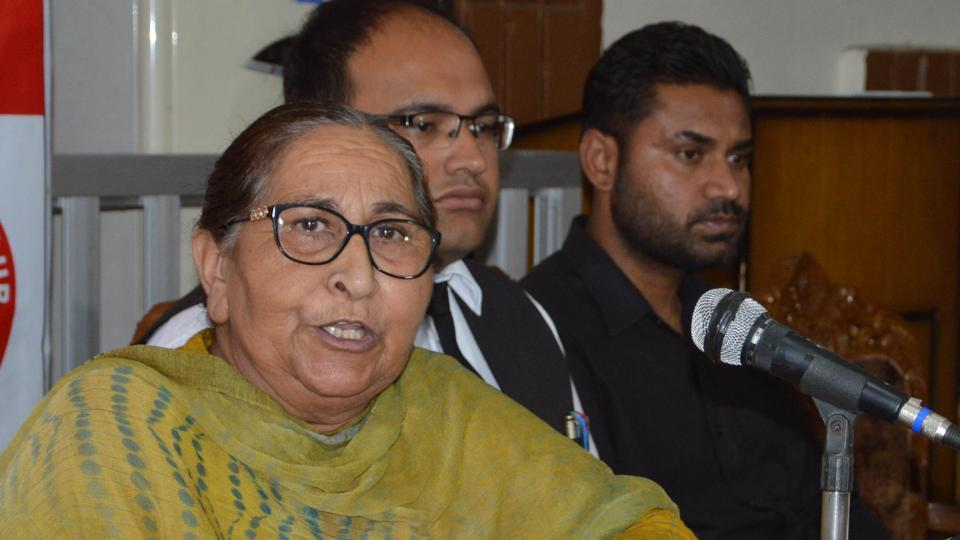Dalbir Kaur's brother Sarabjit Singh died in Lahore in 2013 following a brutal attack on him by fellow prisoners in Pakistan's Kot Lakhpat Jail.