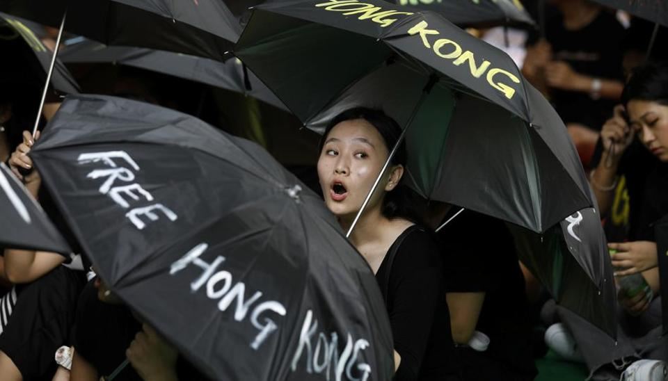 It's the 13th straight weekend of historic political unrest in Hong Kong as rallies over a now-suspended bill to allow extraditions to China widened into a push for greater democracy.
