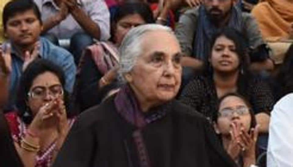 Congress leader Shashi Tharoor joined the outrage over Jawaharlal Nehru University seeking historian Romila Thapar's CV for assessment for her continuation as professor emerita at the Delhi institution.