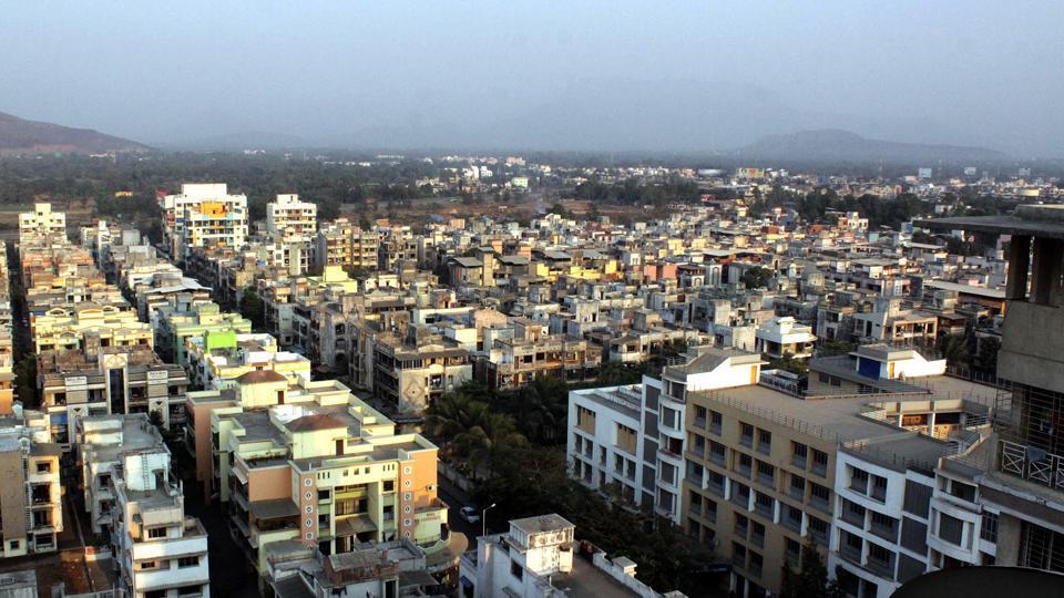 Navi Mumbai, India - September 21, 2013: Property market Navi Mumbai series – New Panvel node report, Navi Mumbai, September 21, 2013. (Photo by Bachchan kumar)