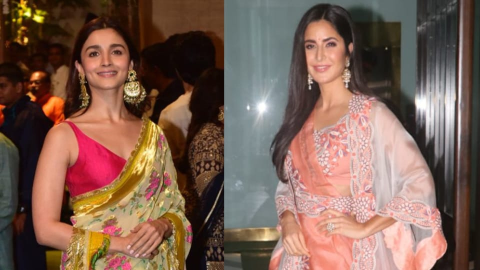 Celebrities welcomed Bappa very fashionably this Ganeshotsav. Here are some of the best saree looks that celebrities sported this Ganesh Chaturthi. Get inspired!