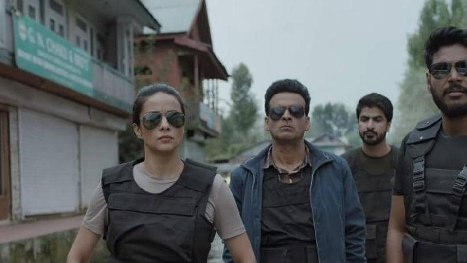Manoj Bajpayee in a still from The Family Man teaser.