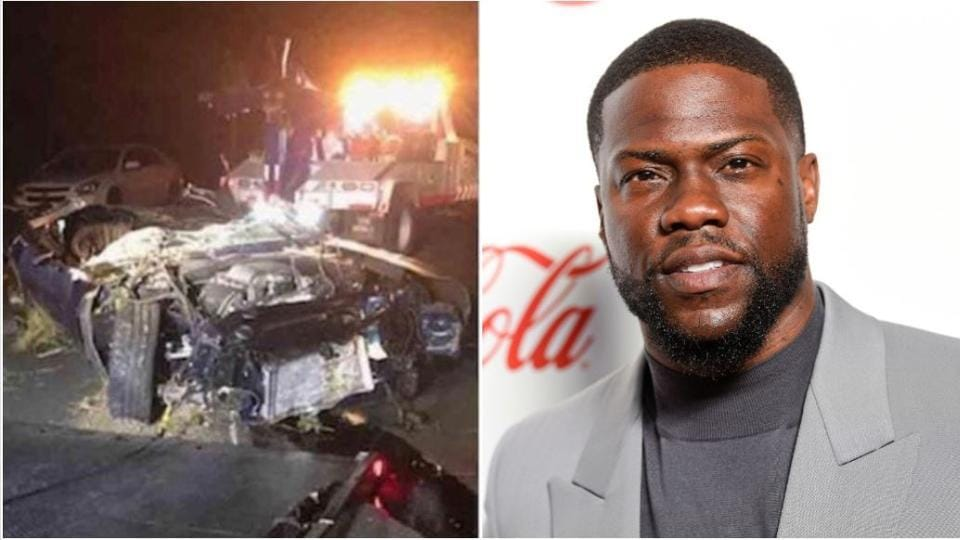 Comedian Kevin Hart suffers 'major back injuries' in vehicle accident