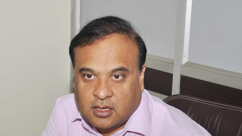 Dr. Himanta Biswa Sarma interacts with media during the Assembly Budget Season at Assam Legislative Assembly in Guwahati on Tuesday.