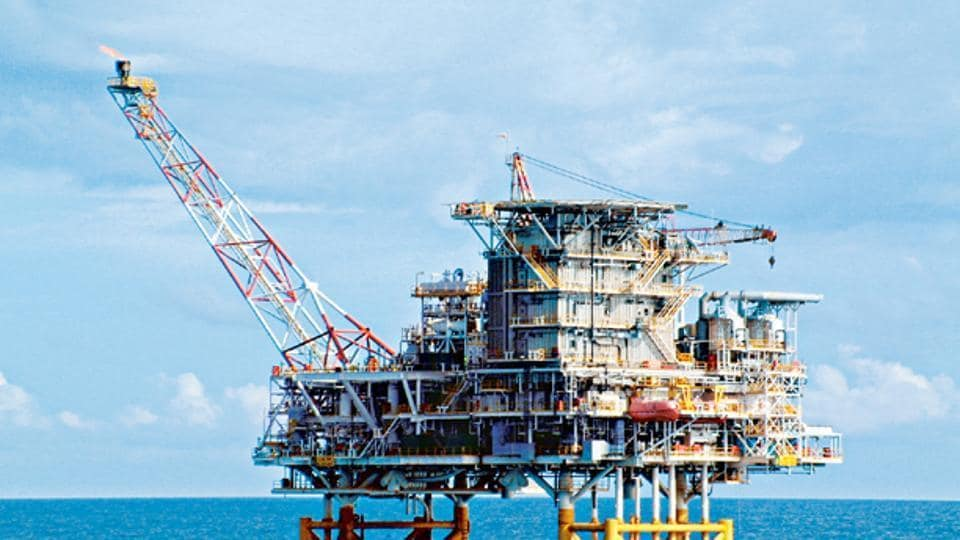 A company handout photograph shows an offshore platform in the Lan Tay field in Vietnam, owned partly by BP Plc, ONGC Videsh Ltd. and Vietnamese government-owned Petro-Vietnam.