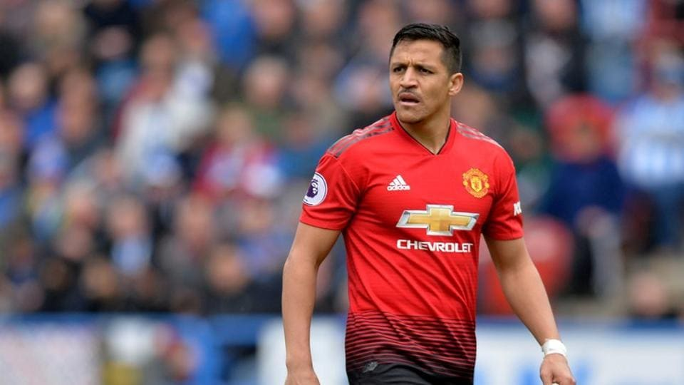 FILE PHOTO of Alexis Sanchez at Manchester United.