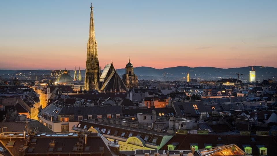 Vienna named most liveable city for second time.
