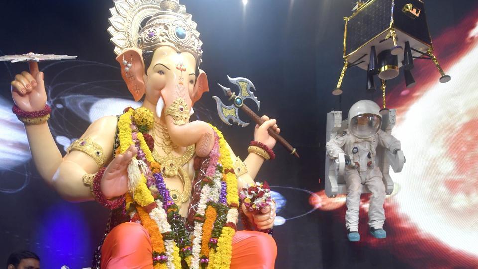 Lalbaugcha Raja in Mumbai.