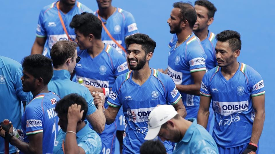 A file photo of Indian men's hockey team.