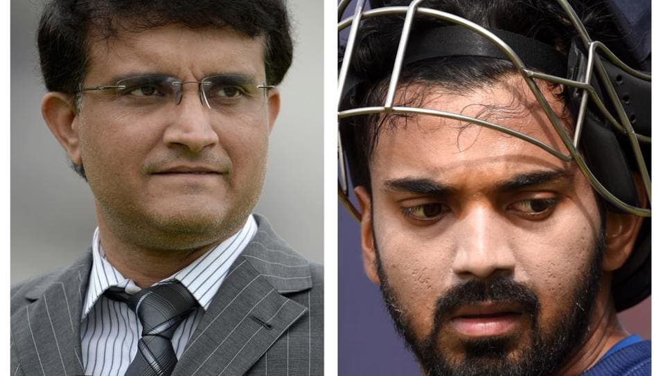 Ganguly was not too impressed with KL Rahul