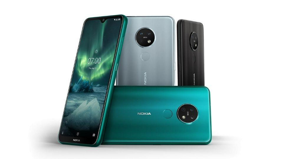Nokia 7.2 Android One smartphone.