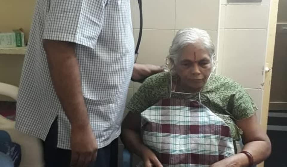 Erramatti Mangayamma, wife of E Raja Rao, 80, from Nelaparthipadu village of Draksharamam block in East Godavari, gave birth to two girls at Ahalya Hospitals at Kothapet through C-section around 10.30 am.