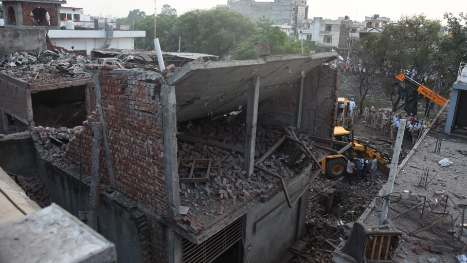 An explosion ripped through a firecracker factory in Punjab's Batala town, killing 23 people and injuring another 27.