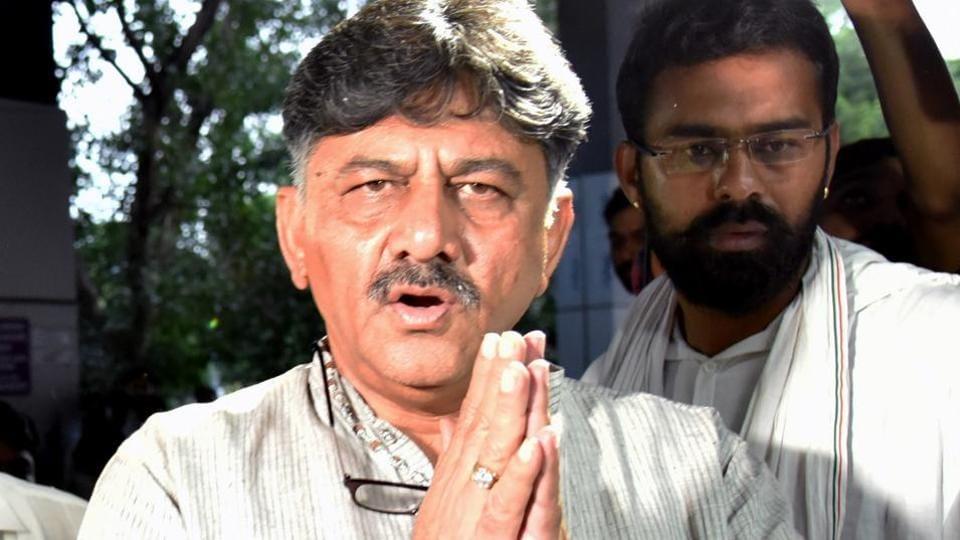 "Congress general secretary K C Venugopal called Shivakumar's arrest ""a clear case of political vendetta by the fascist BJP government at the Centre""."
