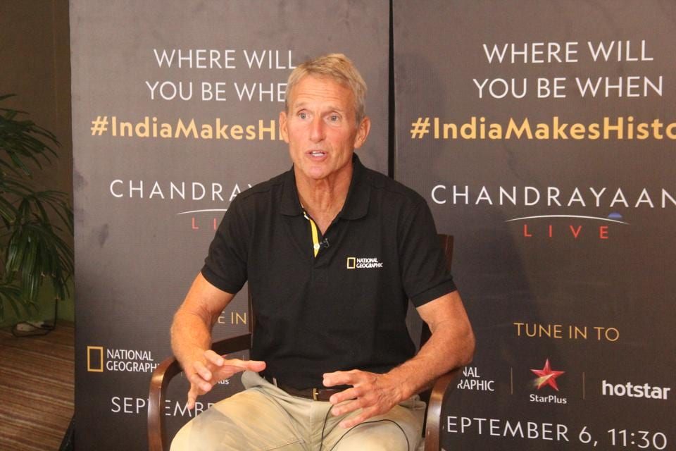 Jerry M Linenger, former NASA astronaut and space analyst, is in India for a live show on the journey of Chandrayaan 2 to the moon on National Geographic.