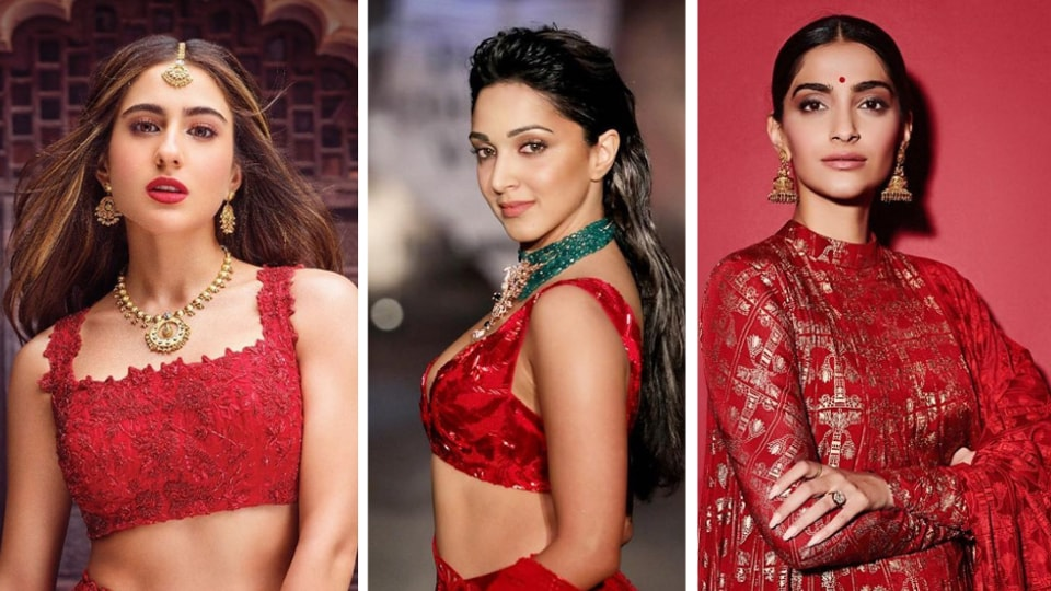If you're hoping to add the sizzling colour to your wardrobe, take cue from the gorgeous outfits these Bollywood actors have donned, and get inspired!