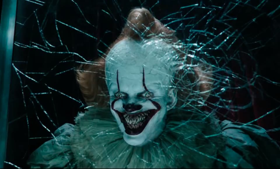 Bill Skarsgard as Pennywise has returned to haunt the kids from the first film, who are now all grown up. Their adult lives are nicely detailed, but the horror bits — and that's most of the film — are dreadful rather than dread-inducing