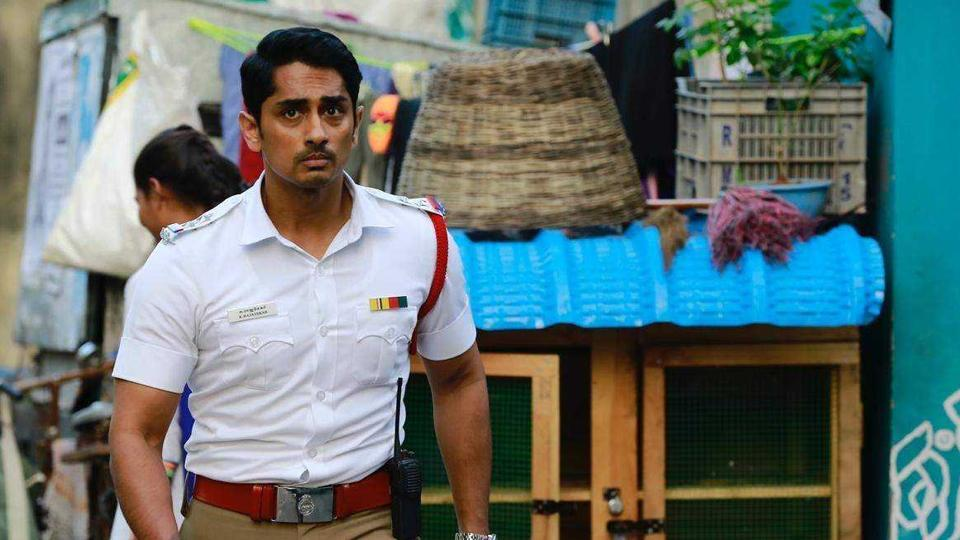 Siddharth in a scene from Sivappa manjal Pachai.