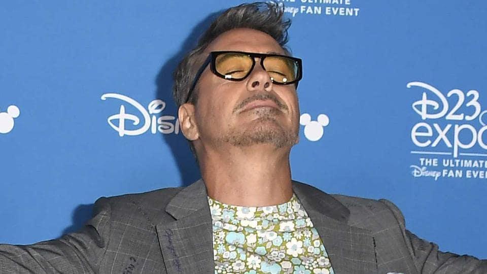 Robert Downey Jr. attends D23 Disney Legends event.