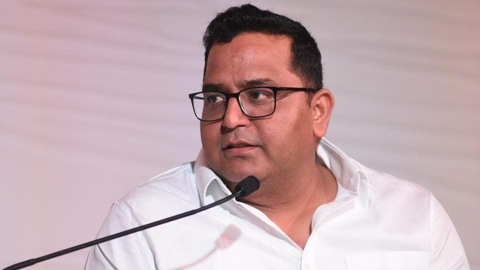 Vijay Shekhar Sharma, Founder and CEO of Paytm, during the 'What it takes to be a global unicorn' session at the Hindustan Times Mint-Asia Leadership Summit, in Singapore, on Friday