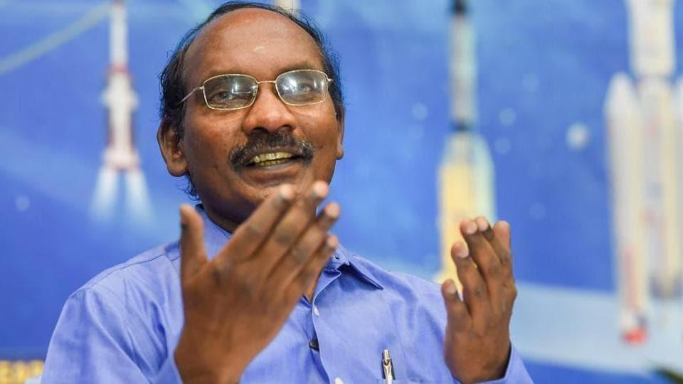 ISRO chairperson K Sivan