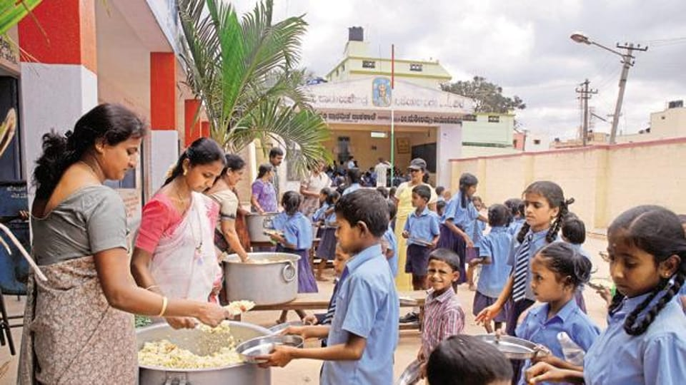 To recall, on August 22, salt and roti was allegedly served to students at the government primary school in Shiur, Mirzapur.